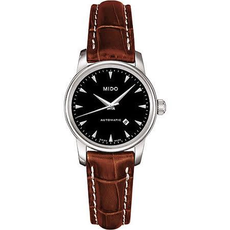MIDO Baroncelli 尊爵紳士機械錶(M76004188)-皮帶