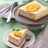 【人氣乳酪專賣-米迦】瓦倫西亞鮮橙重乳酪(670g)-含運
