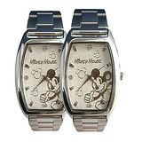【迪士尼-Disney】貝殼砂酒桶型情人對錶