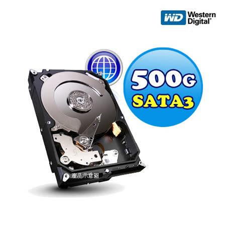 WD 500G SATA3 3.5吋內接式硬碟 (WD5000AAKX 16M 藍標)