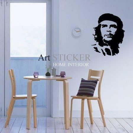 Art STICKER壁貼 。 Che-guevara (P007)