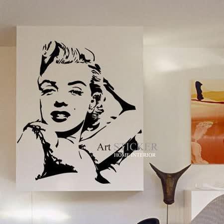Art STICKER壁貼 。 Marilyn Monroe (P026)
