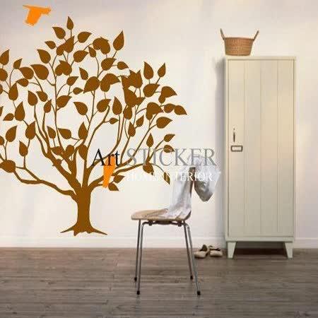 Art STICKER璧貼 。 浪漫飛鳥與樹 (T002)