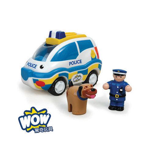 英國~WOW Toys 驚奇玩具~追緝警車 查理 ^(K9小組^)