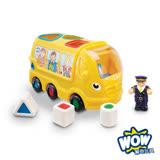 英國【WOW Toys 驚奇玩具】形狀認知校車 席尼