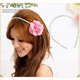 韓版氣質小公主珍珠髮箍 名媛風 氣質髮箍