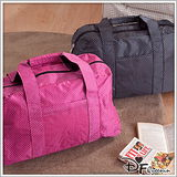 【Queenin】出遊必備超大容量尼龍多用途旅行袋(有3色)