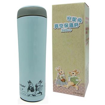 安妮兔260CC真空保溫杯+安妮兔微波便當盒+安妮兔不鏽鋼環保筷 (開學季特惠組)