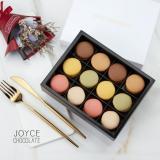 JOYCE巧克力工房-【法國空運新鮮直送-馬卡龍禮盒-12入禮盒】