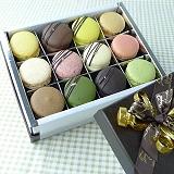 JOYCE巧克力工房-【法國頂空運新鮮直送-綜合巧克力馬卡龍禮盒-12入禮盒】