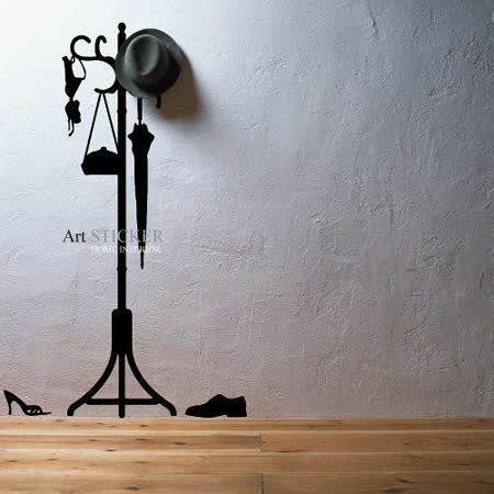 Art STICKER璧貼 。 Hanger2 (W047)