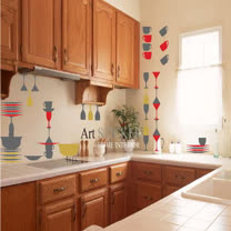 Art STICKER壁貼。Kitchen (W051)