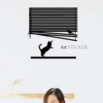 Art STICKER璧貼 。Blinder (W058)