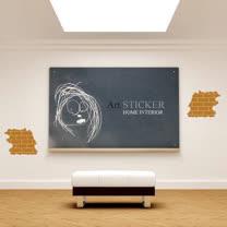 Art STICKER壁貼 。The bricks (W060)