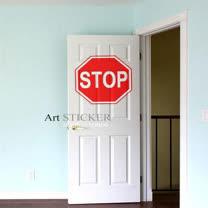 Art STICKER璧貼 。 Stop (W069)