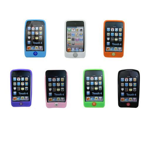 J4 Home豆款第四代 iPod Touch果凍套