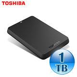 Toshiba 東芝 黑靚潮 1TB USB3.0 2.5吋行動硬碟