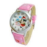 迪士尼限量聖誕繽紛錶-粉