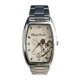 【迪士尼-Disney】貝殼砂酒桶型中性錶