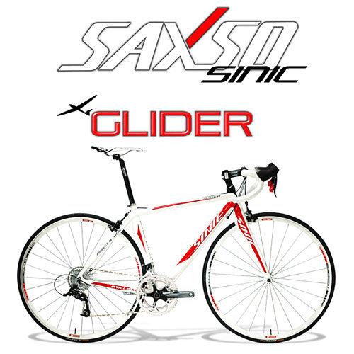 SAXSO SINIC Glider 專業級20S標準公路車(紅白)