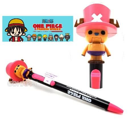 日本進口【航海王喬巴】張嘴活動式原子筆