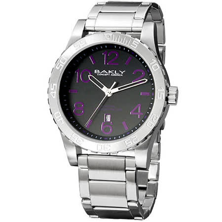【真心勸敗】gohappy快樂購物網BAKLY 撼動系列德意防衛軍數字腕錶(紫)效果如何文 心路 愛 買