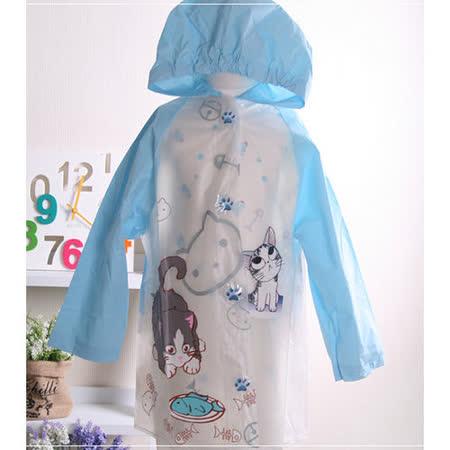(購物車)魔法Baby ~兒童時尚彩色雨衣~小貓~k18943