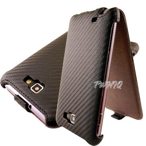 Samsung Galaxy Note i9220/N7000 動感卡夢紋 下掀式/翻蓋式 手機皮套