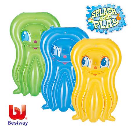 (購物車)《購犀利》美國品牌【Bestway】43x29吋果凍章魚浮排-黃、藍、綠(隨機出貨)