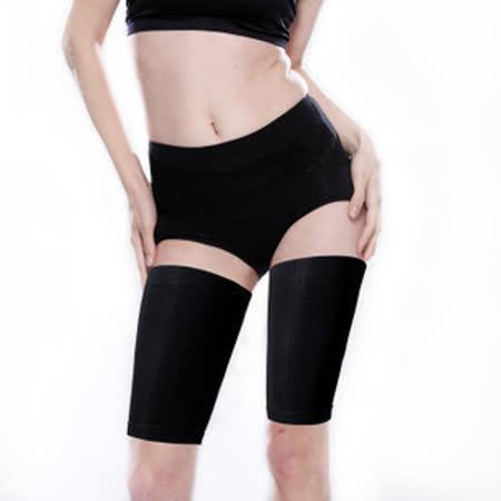【PS Mall】凹凸編織大腿肌按摩束套 束腿套 (HS4)