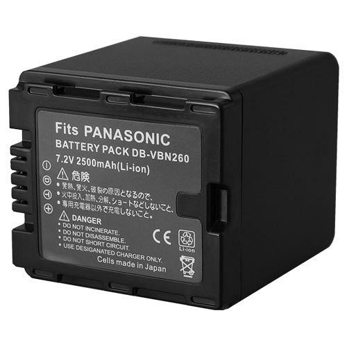 【Kamera】佳美能 Panasonic VW-VBN260 日製副廠攝影機鋰電池