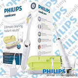 飛利浦Philips Sonicare DiamondClean 充電式音波震動牙刷 HX9332 (加贈專用刷頭3入裝)