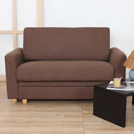 【好物推薦】gohappy【DOWANA】Choice巧依思雙人布沙發+腳椅(二色可選)評價好嗎大 遠 百 電影院