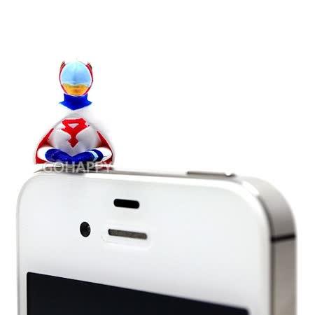日本進口科學小飛俠【一號鐵雄】iphone音源孔防塵塞