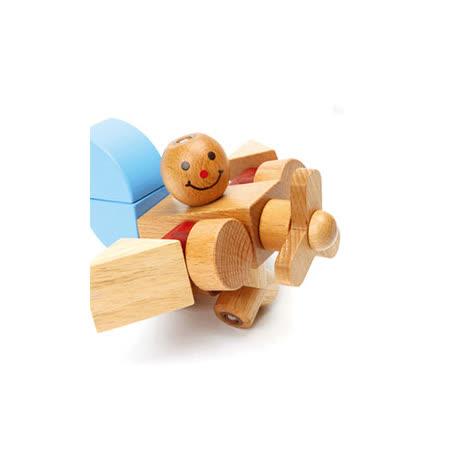 EDTOY愛迪-飛機組合積木