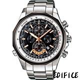 CASIO EDIFICE 科技速度 計時腕錶-(EFR-507D-1A)黑色