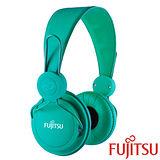 富士通 MA-11 智慧型手機用耳罩式耳機麥克風【綠色】