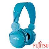 富士通 MA-11 智慧型手機用耳罩式耳機麥克風【藍色】