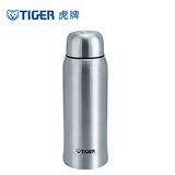 【TIGER虎牌】1.0L不鏽鋼保溫保冷瓶_曲線造型(MBK-A100)