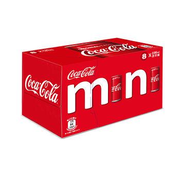 可口可樂迷你罐(冰箱好拿包)235ml*8入