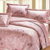 Joy bed【春天葉語】雙人鋪棉八件式床罩組(台灣製)