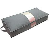 TV熱銷收納高手95X40竹炭床下棉被衣物收納整理袋(70L)