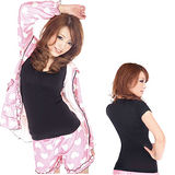 《日本Ageha小惡魔》提胸束腰著壓美體衣