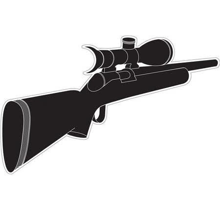 《MB》Spy 窺視孔裝飾貼紙(步槍)