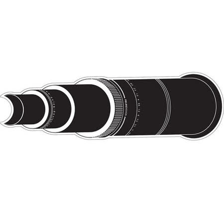 《MB》Spy 窺視孔裝飾貼紙(望遠鏡)