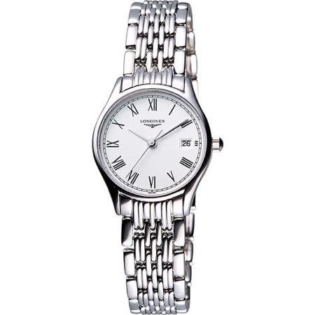 LONGINES Lyre 琴韻 羅馬美人腕錶(L42594116)-25mm