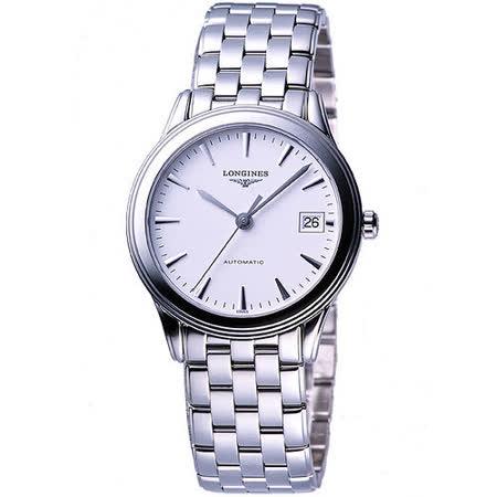 LONGINES 典藏系列典藏機械腕錶(L47744126)-白