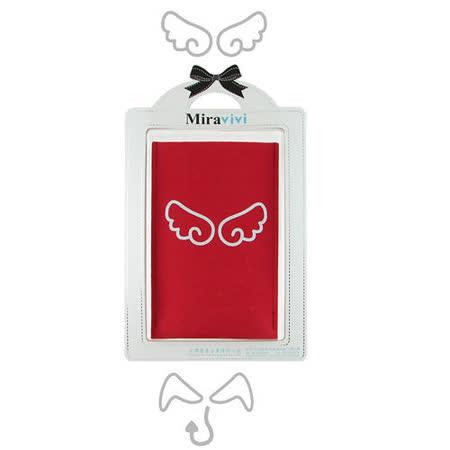 可愛天使惡魔超細纖維布手機袋