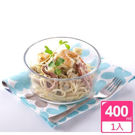 【牛頭牌】小牛圓型耐熱玻璃保鮮盒_400ml(BP2Z002)