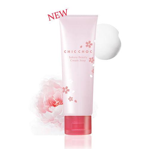 CHIC CHOC 櫻花水感洗顏皂